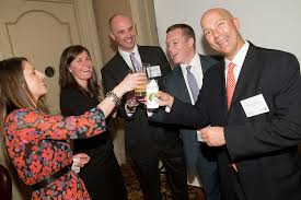 financial advisors toasting